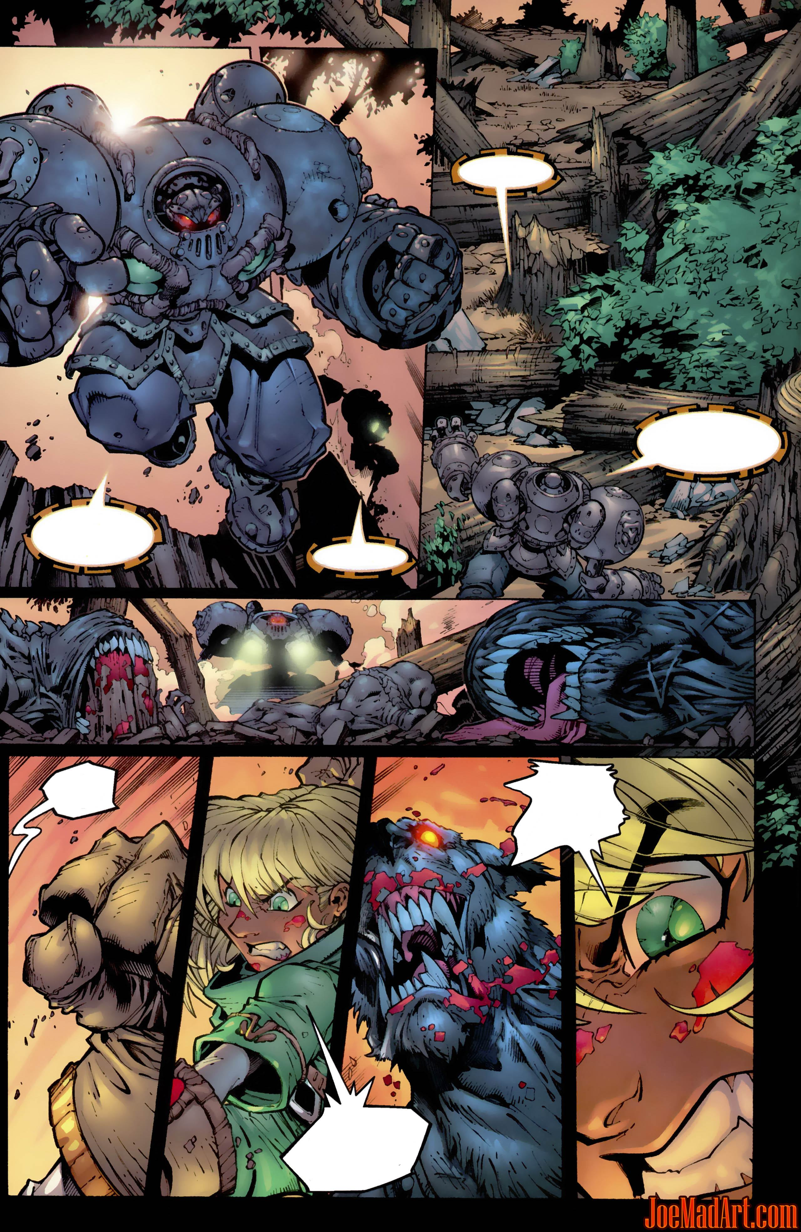 Joemadart Com Battle Chasers Comic 2 Page 12