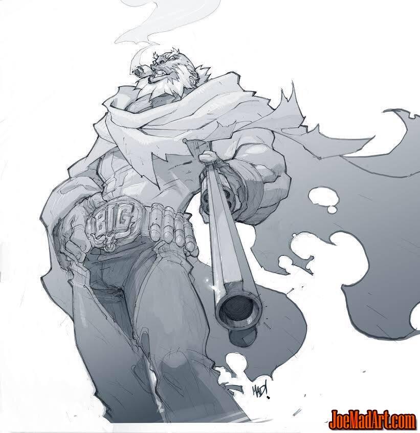 Bull Concept Art
