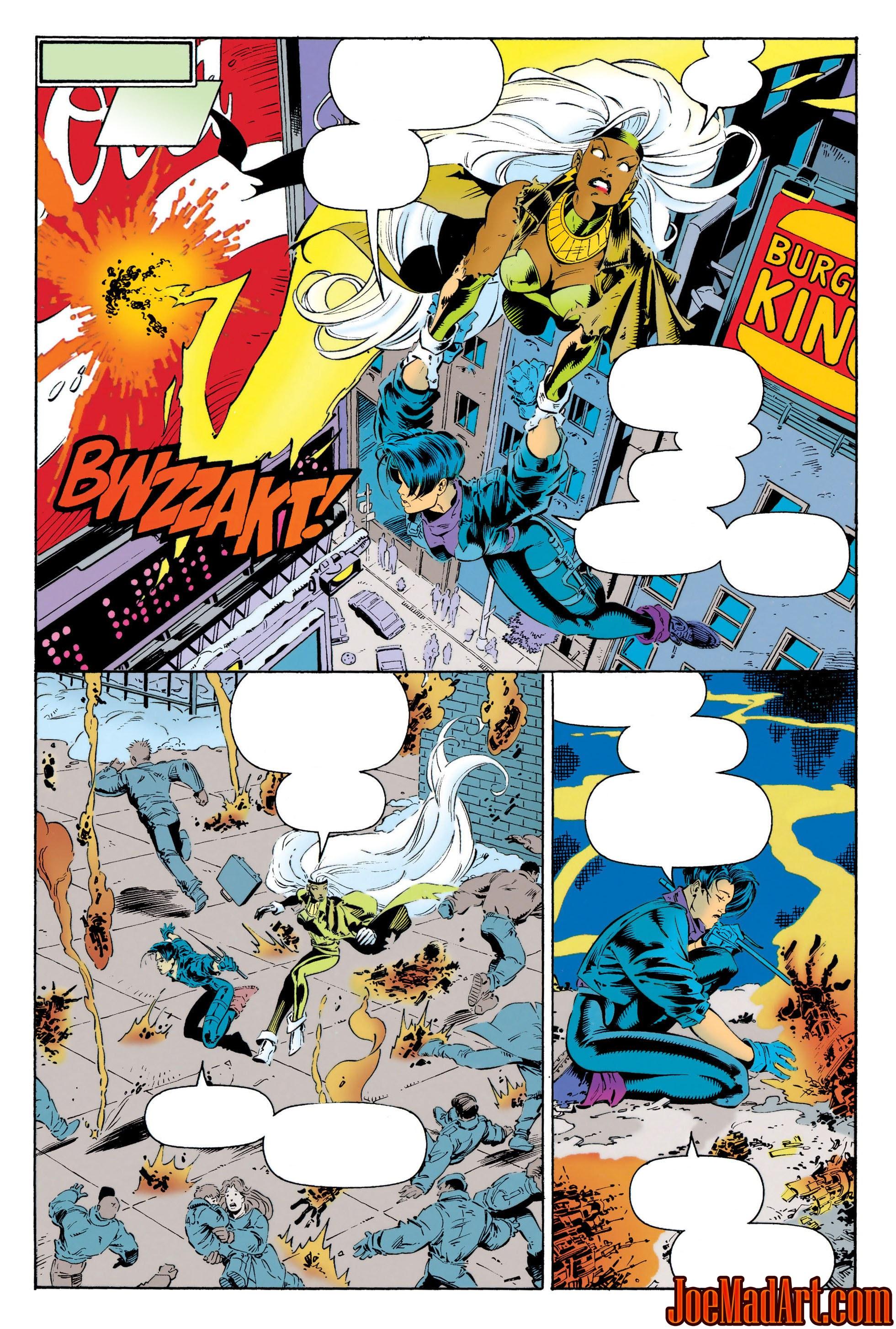 : Uncanny X Men #312 page 6