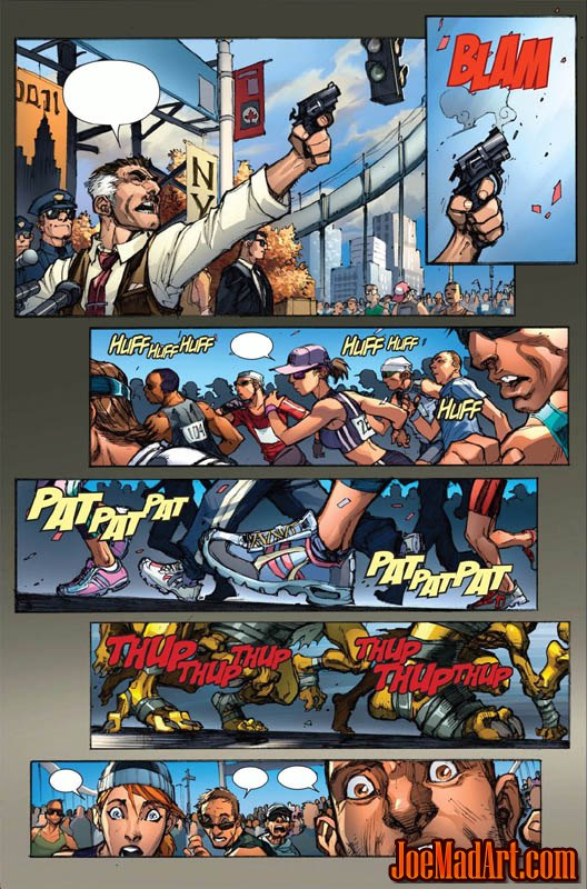 Avenging Spider-Man Volume 1 issue #1 page 5 (Color)
