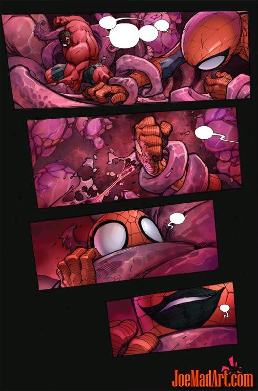 Avenging Spider-Man Volume 1 issue #1 page 18 (Color)