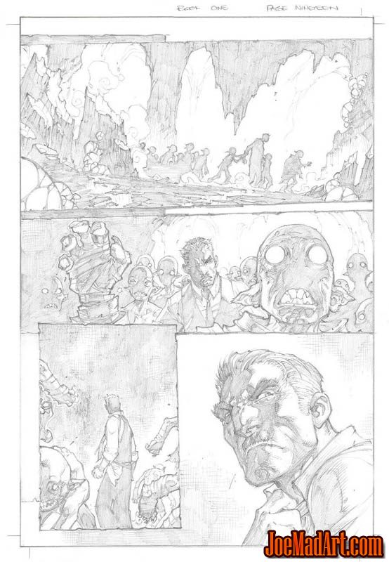 Avenging Spider-Man Volume 1 issue #1 page 19 (Pencil)