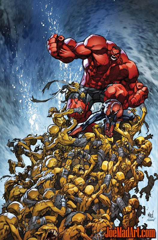 Avenging Spider-Man Volume 1 issue #2 cover (Color)