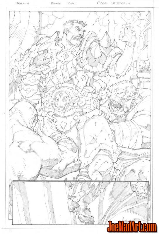 Avenging Spider-Man Volume 1 issue #2 page 13 (Pencil)
