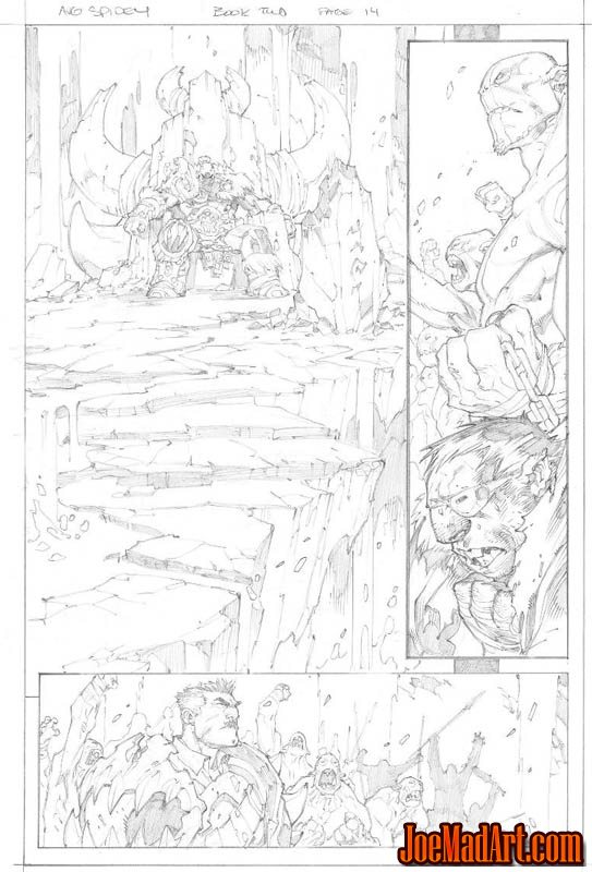 Avenging Spider-Man Volume 1 issue #2 page 14 (Pencil)