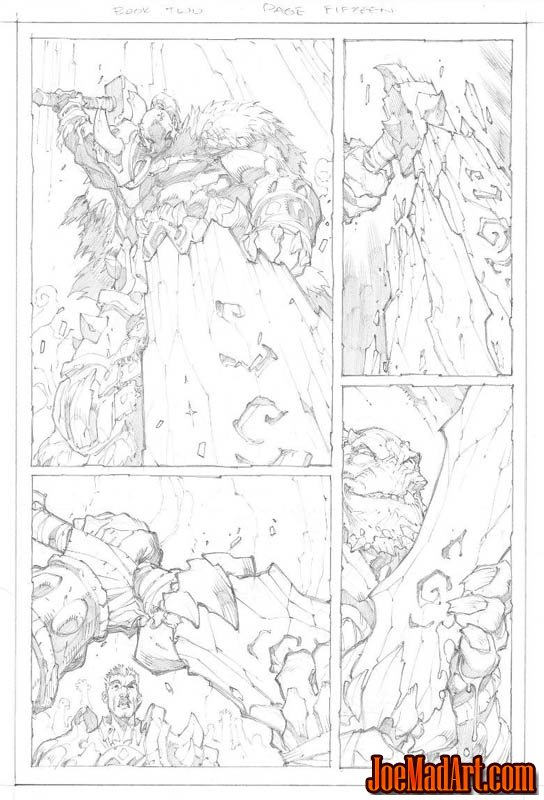 Avenging Spider-Man Volume 1 issue #2 page 15 (Pencil)