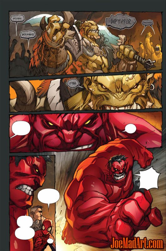 Avenging Spider-Man Volume 1 issue #2 page 17 (Color)