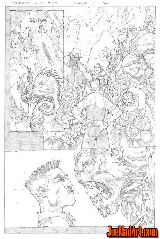 Avenging Spider-Man Volume 1 issue #2 page 4 (Pencil)
