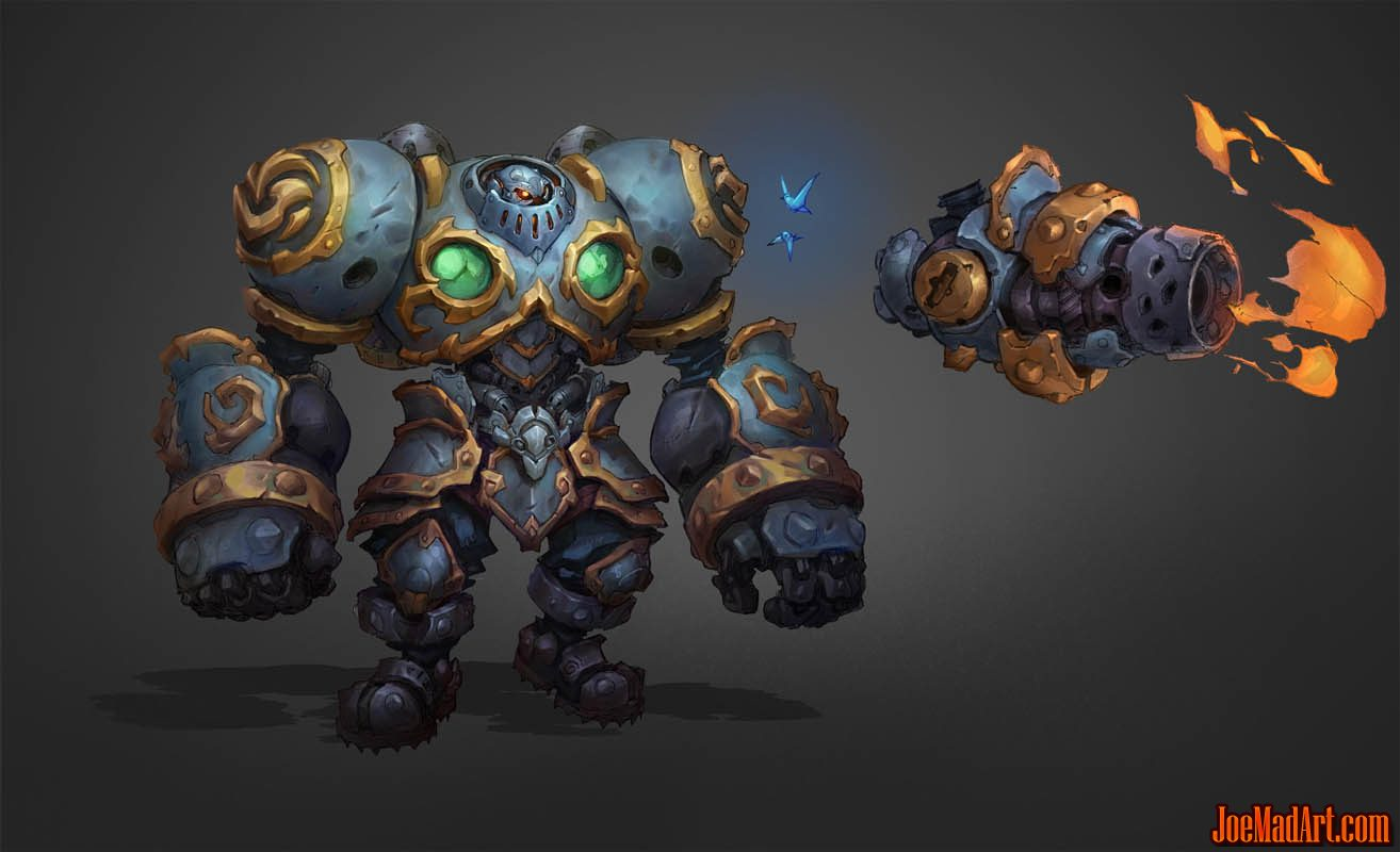 Battle Chasers NightWar Calibretto concept art (Color)