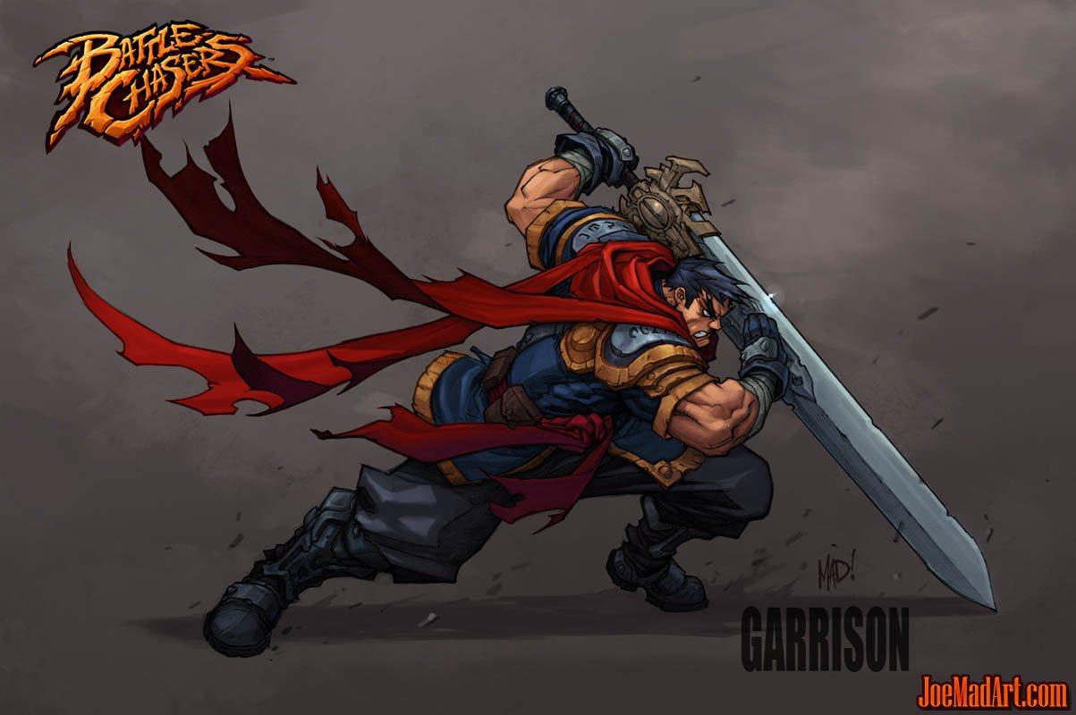 Battle Chasers Nightwar game Garrison 1st wallpaper (Color)