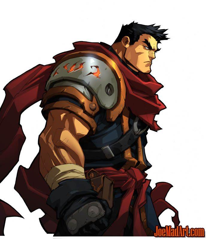 Battle Chasers Nightwar in-game Garrison Portrait (Color)