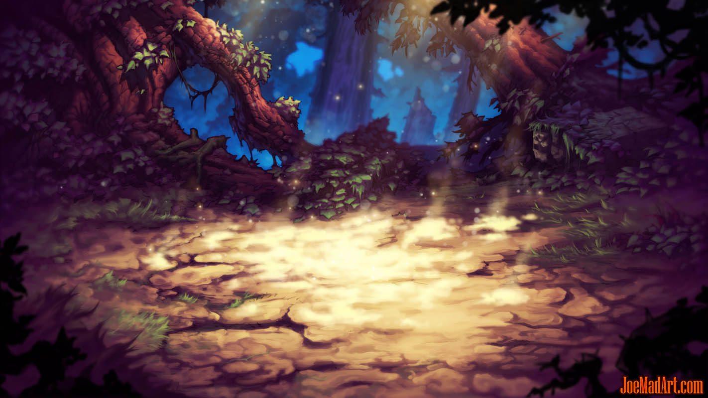 Battle Chasers Nightwar background test render (Color)