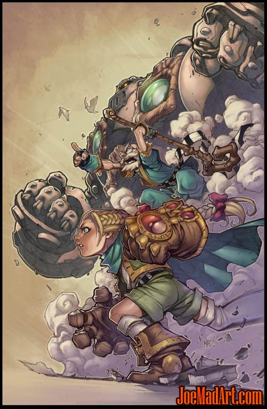 NYCC 2013 Battle Chasers print #2 (Other)