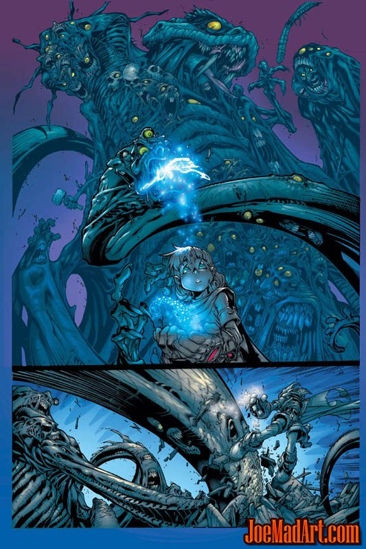 Battle Chasers comic #7 page 18 (Color)
