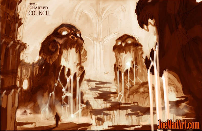Darksiders The Charred Council concept art (Color)