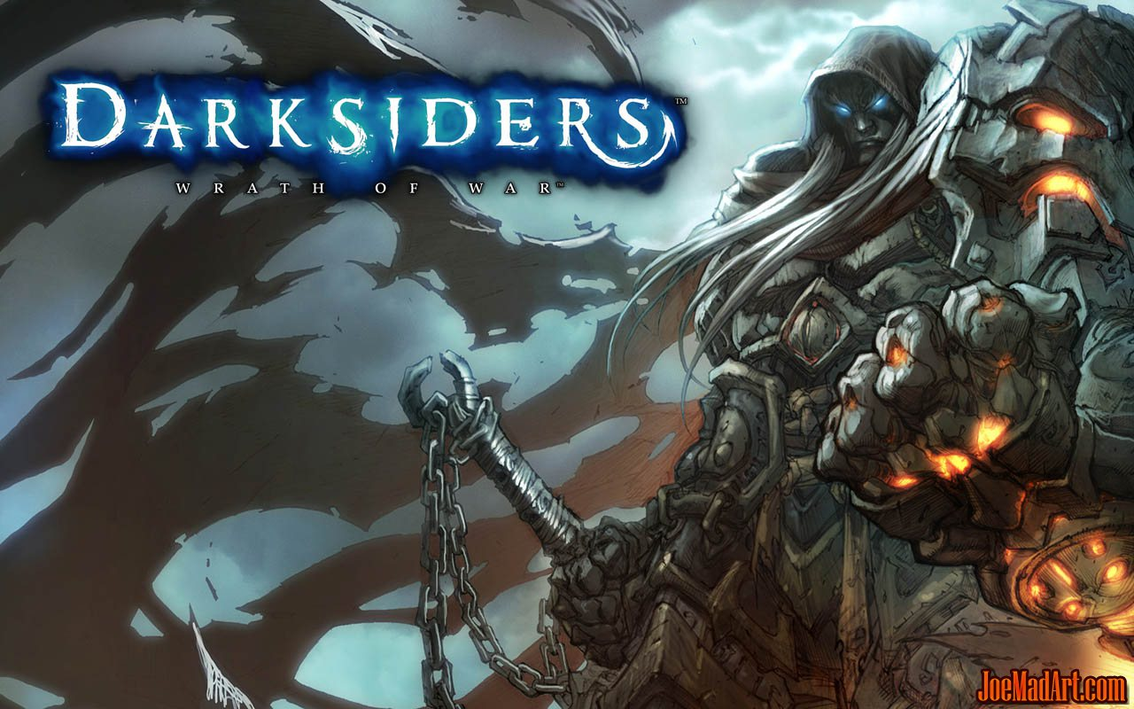 Darksiders: War promo art / Wallpaper (Wallpaper)
