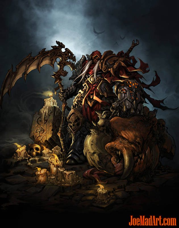 Darksiders gamestop mag poster (Color)