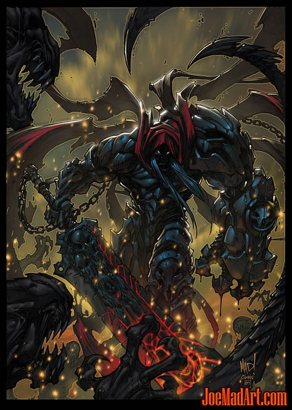 Darksiders: War promo art (Color)