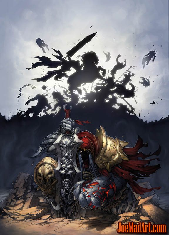 Darksiders: Wizard mag #221 cover (2010/02) (Color)