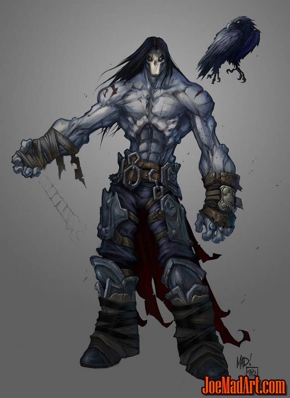 Darksiders 2 Death & Dust first concept art (Color)