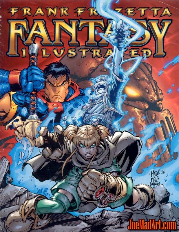 Frank Frazetta Fantasy Illustrated cover (Color)