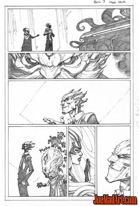 Comic Book Pages To Color Joe Madureira