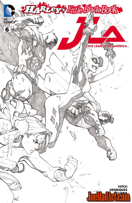 Justice League of America #6 variant cover (JLA) (CoverC)