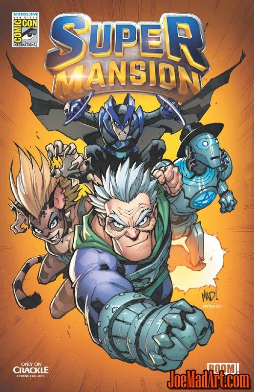 Super Mansion Comic #1 SDCC 2015 (Color)