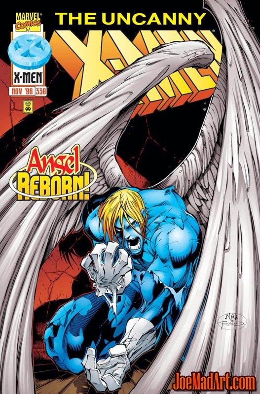 Uncanny X-Men #338 cover (Color)