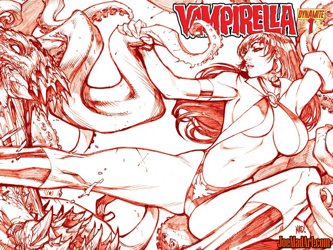 Vampirella #1 2010 series covers (Other)