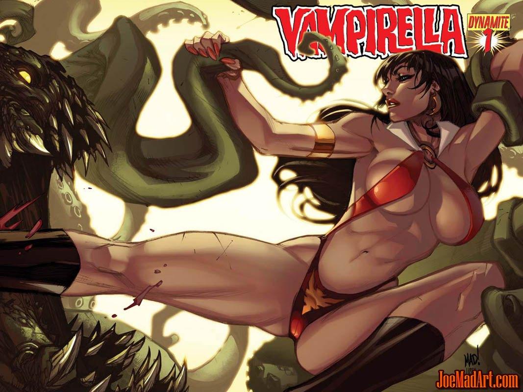 Vampirella #1 2010 series covers (Color)
