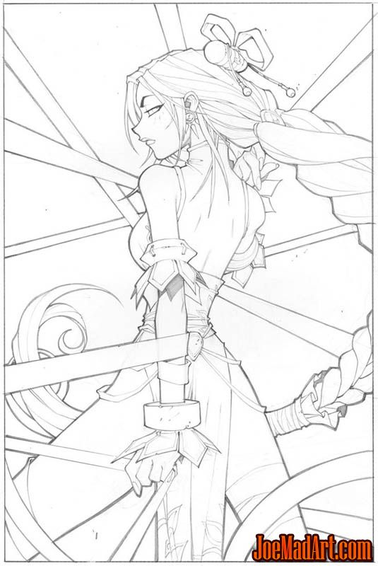 Xin Legend of the Monkey King comic #1  cover (Pencil)