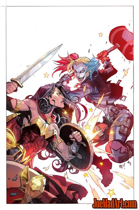 Justice League Vs Suicide Squad #3 cover (Color)
