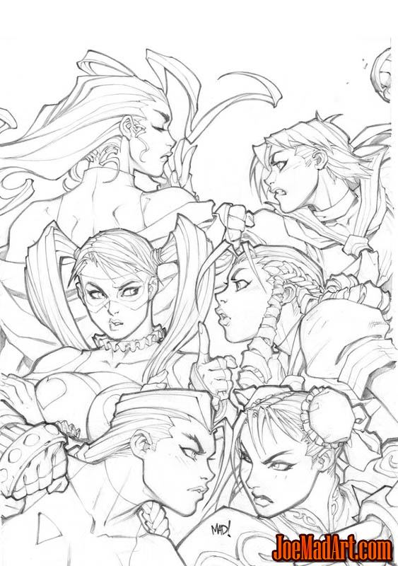 Street Fighter vol 1 issue #13 cover A (Pencil)