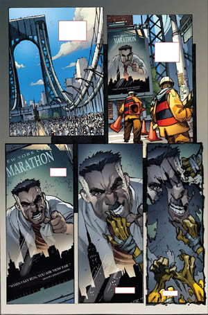 Avenging Spider-Man Volume 1 issue #1 page 4 (Color)