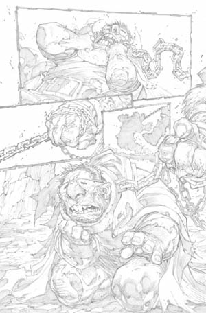 Avenging Spider-Man Volume 1 issue #1 page 21 (Pencil)