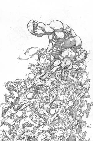 Avenging Spider-Man Volume 1 issue #2 cover (Pencil)