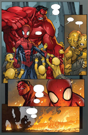 Avenging Spider-Man Volume 1 issue #2 page 10 (Color)