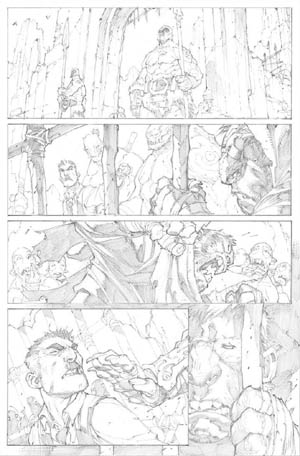 Avenging Spider-Man Volume 1 issue #2 page 12 (Pencil)