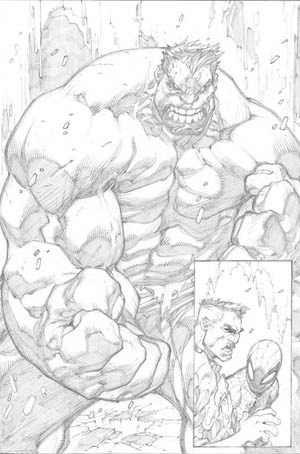 Avenging Spider-Man Volume 1 issue #2 page 16 (Pencil)