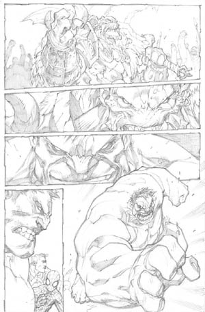 Avenging Spider-Man Volume 1 issue #2 page 17 (Pencil)