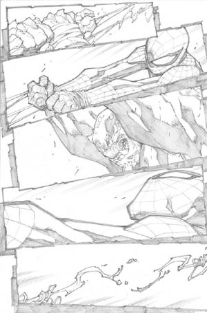 Avenging Spider-Man Volume 1 issue #2 page 20 (Pencil)