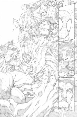 Avenging Spider-Man Volume 1 issue #2 page 21 (Pencil)