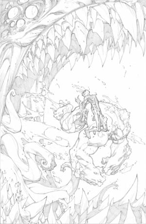 Avenging Spider-Man Volume 1 issue #2 page 3 (Pencil)