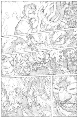 Avenging Spider-Man Volume 1 issue #2 page 5 (Pencil)