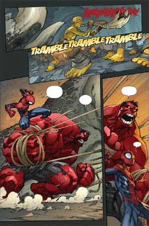 Avenging Spider-Man Volume 1 issue #2 page 9 (Color)