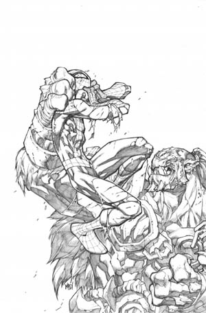 Avenging Spider-Man Volume 1 issue #3 cover (Pencil)