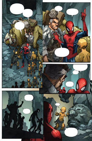 Avenging Spider-Man Volume 1 issue #3 page 3 (Color)