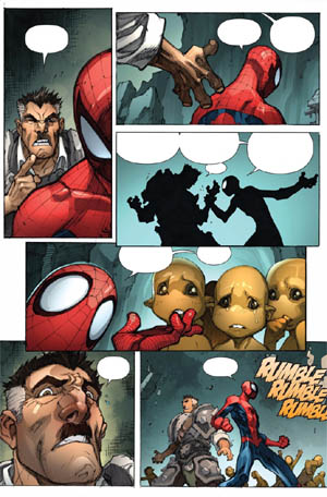 Avenging Spider-Man Volume 1 issue #3 page 4 (Color)