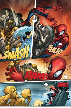 Avenging Spider-Man Volume 1 issue #3 page 10